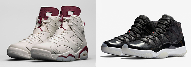 72 10 Air Jordan 11 Maroon Air Jordan 6 Restock