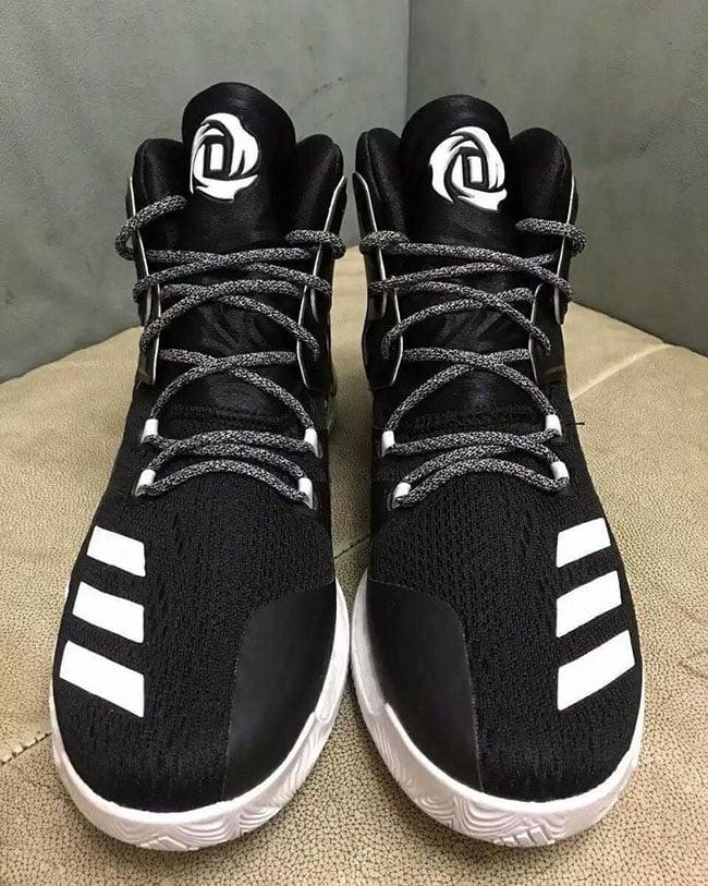 buy popular 9addf 6c9c8 adidas D Rose 7 Black White