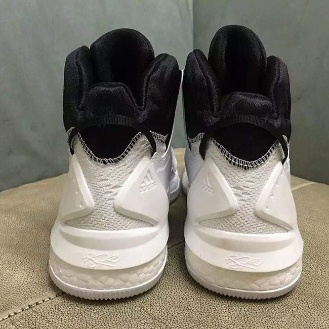 san francisco af6fc 1ccf9 adidas D Rose 7 White Black