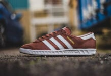 adidas Hamburg Redwood