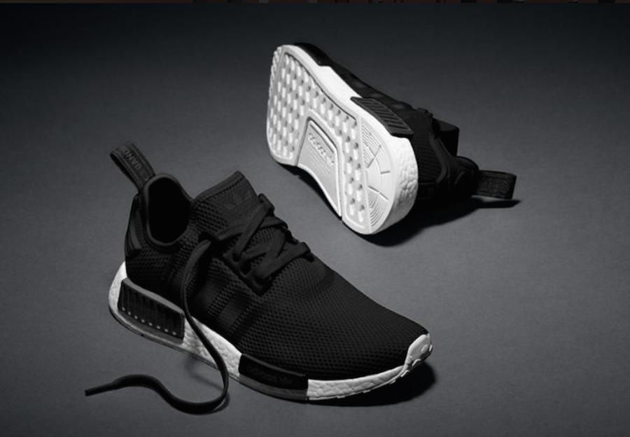 Adidas Nmd Black On White