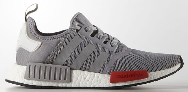 adidas NMD Grey Red White