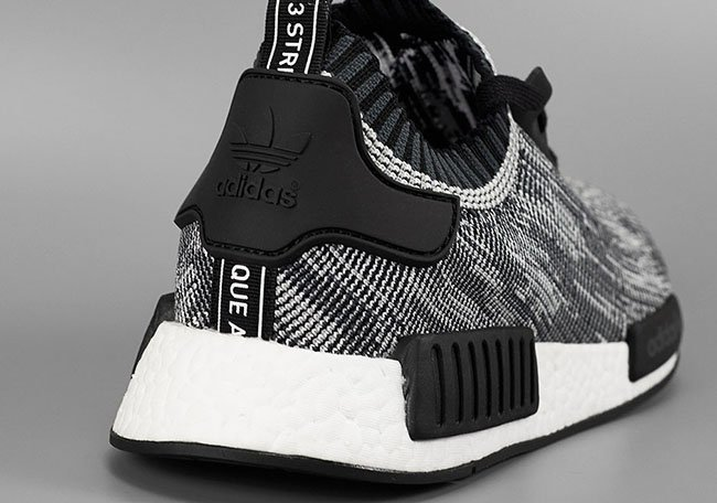 Black Primeknit NMD R1 Shoes adidas UK