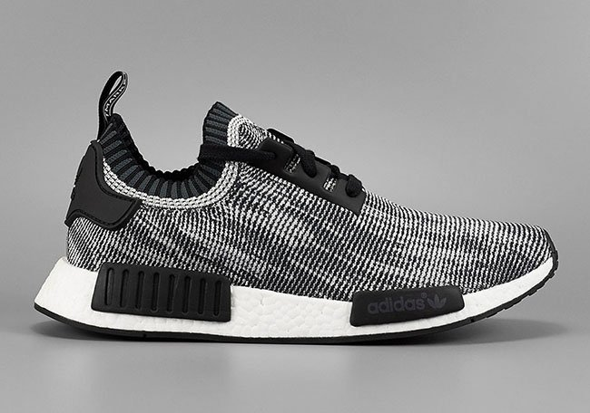 naxfgk Adidas NMD R1 Primeknit Black White ptmgardening.co.uk