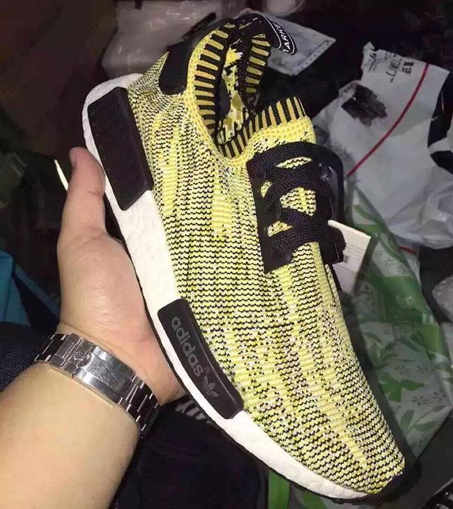 3646c0c70328 adidas nmd r1 primeknit yellow  adidas nmd runner women