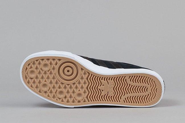 adidas Skateboarding Matchcourt Low Black White