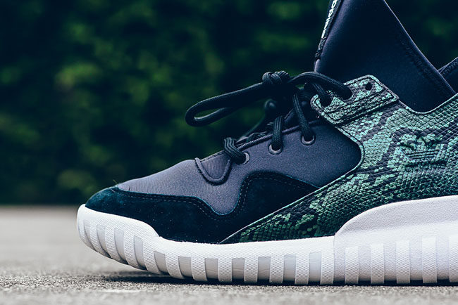 Adidas Tubular X Knit Up Close On Feet