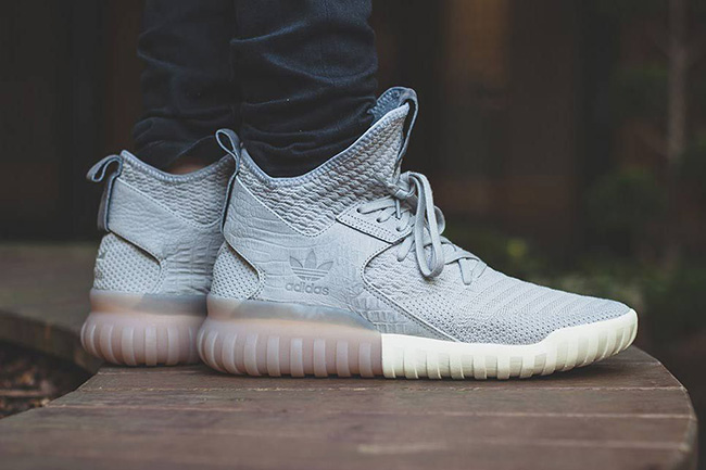 adidas Tubular X Primeknit Clear Granite