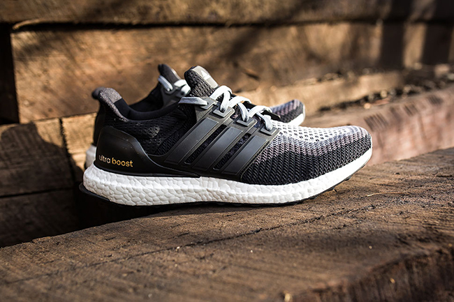 sneakers for cheap bc210 c39fa Adidas Ultra Boost Gradient Black