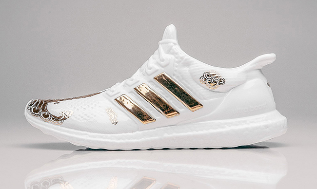 adidas ultra boost sculptures 3 - The adidas Ultra Boost Gets Dipped in Gold