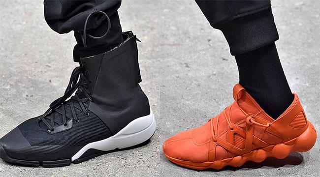 adidas Y-3 Footwear Autumn Winter 2016 Collection | SneakerFiles