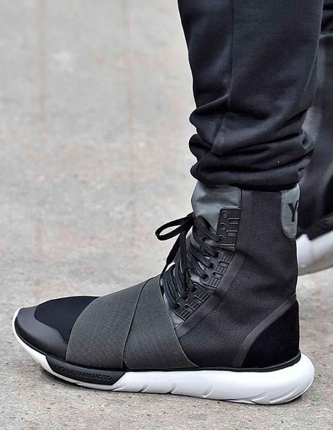 ... Qasa Boot Hi · hot sale 2017 adidas Y 3 Footwear Autumn Winter 2016  Collection b0b0de7ccf