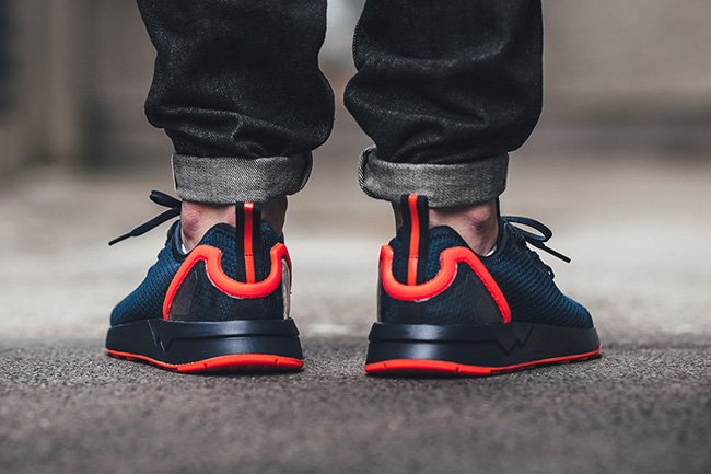 adidas ZX Flux ADV Asymmetrical Collegiate Navy Red