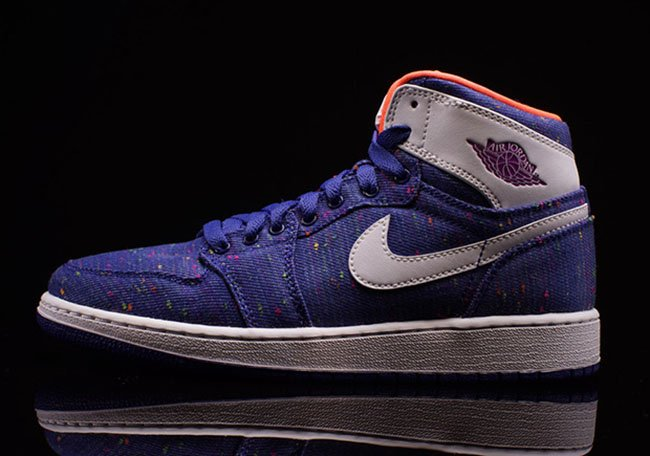 Air Jordan 1 GS Purple Dusk