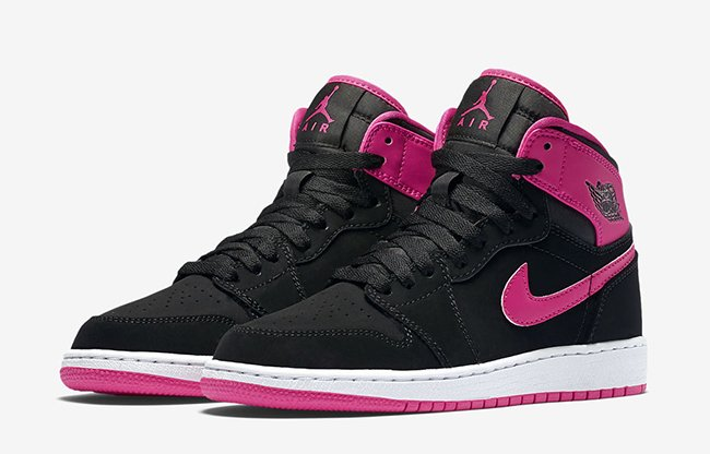 Air Jordan 1 High GS Vivid Pink