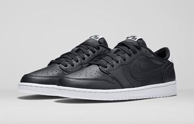 Air Jordan 1 Low OG Black White Release