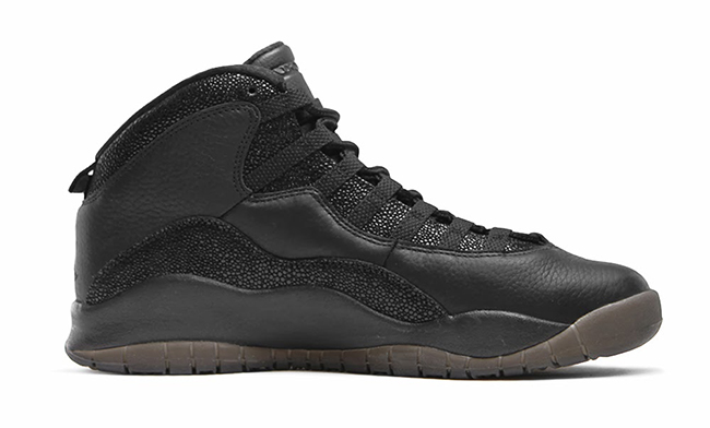 Air Jordan 10 OVO Black February 2016