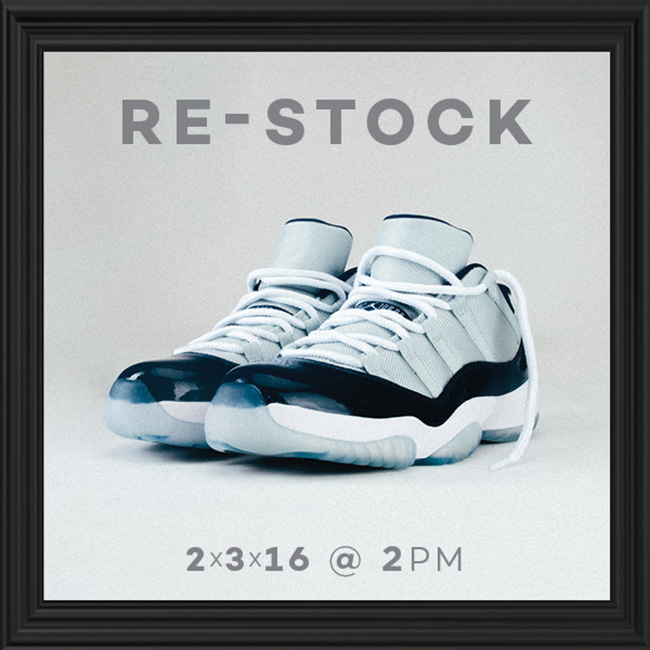 Air Jordan 11 Low Georgetown Restock Shiekh Shoes