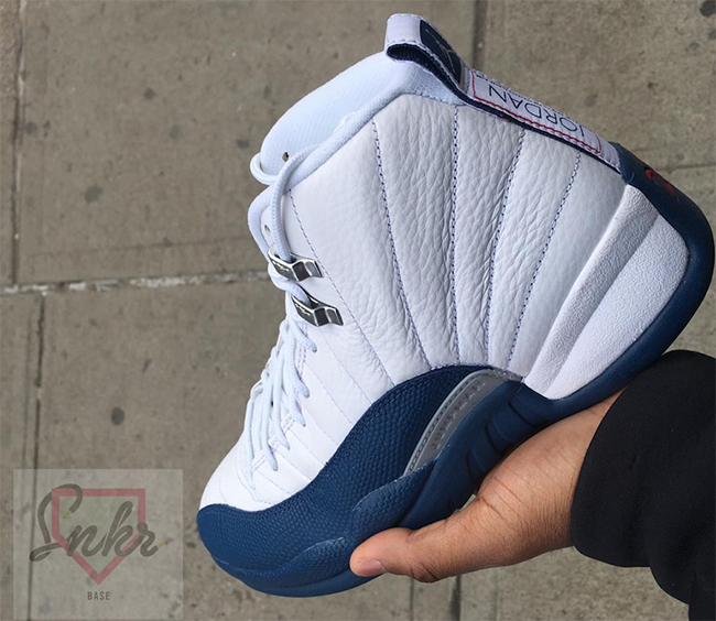 Air Jordan 12 French Blue March 2016