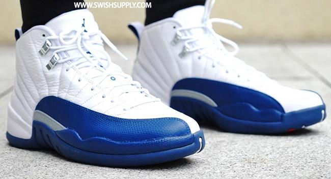 new arrival 998a2 4dec6 Air Jordan 12 French Blue 2016 | SneakerFiles