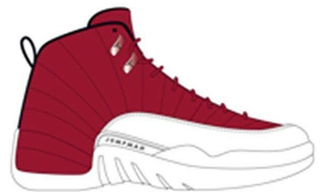Air Jordan 12 Gym Red 2016