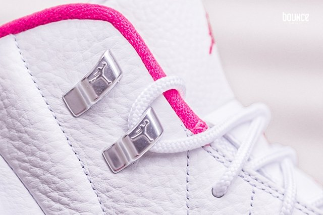 Air Jordan 12 Pink White Valentines Day
