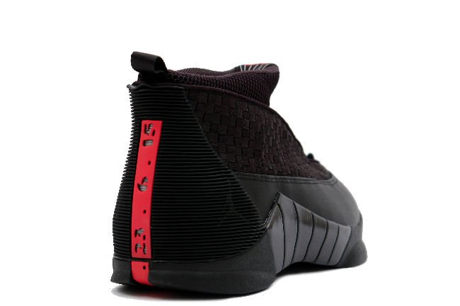 half off ad211 15edf Air Jordan 15 Stealth Black Varsity Red 2017