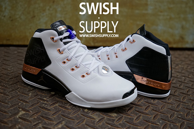 Air Jordan 17 Copper Retro