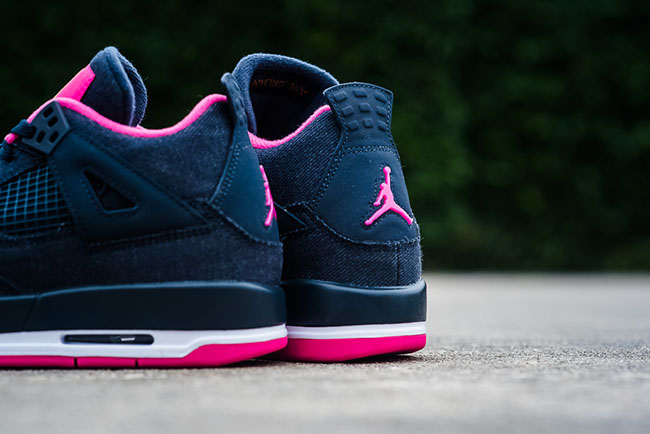 802cbcbc0cae Air Jordan 4 Girls Denim Pink Release