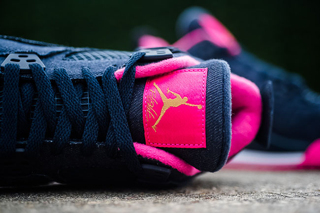 Air Jordan 4 Girls Denim Pink Release