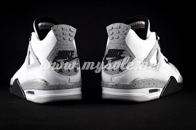 Air Jordan 4 Nike White Cement 2016