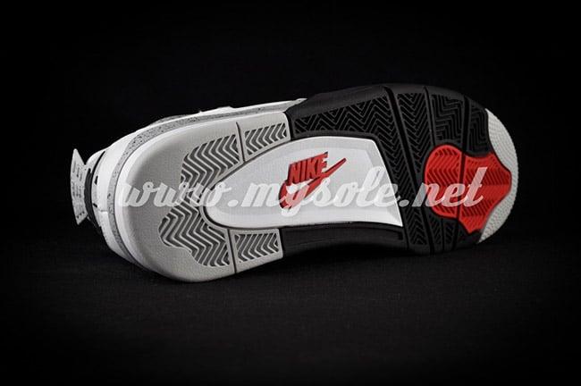 Air Jordan 4 Nike White Cement 2016