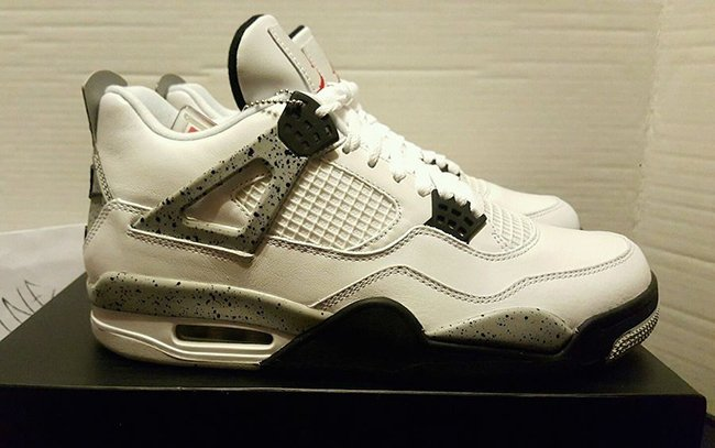 Air Jordan 4 OG White Cement Available