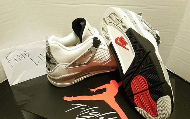 Air Jordan 4 OG White Cement Available