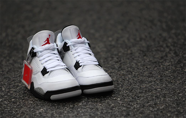 Air Jordan 4 OG White Cement Nike Air