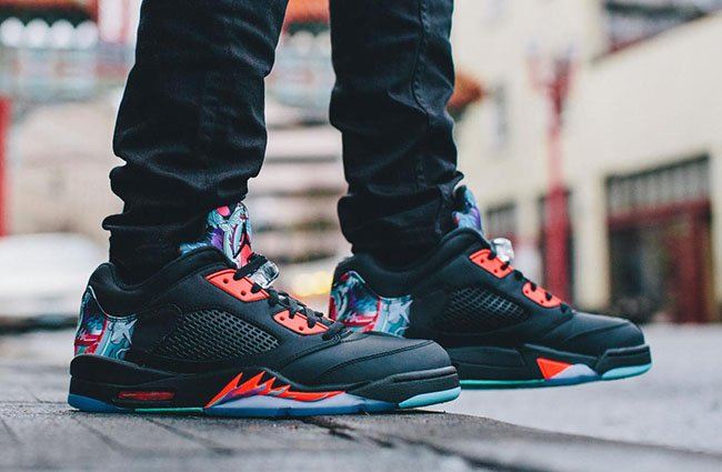Air Jordan 5 Low Chinese New Year