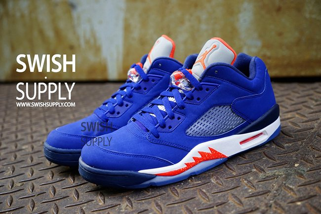 182f2ea9852 Air Jordan 5 Low Knicks 2016 | SneakerFiles