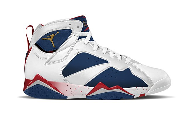 Air Jordan 7 Tinker Alternate Olympic
