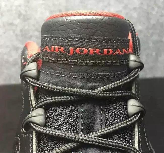 Air Jordan 9 Low Black White Red 2016