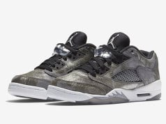 All Star Air Jordan 5 Low GS Grey