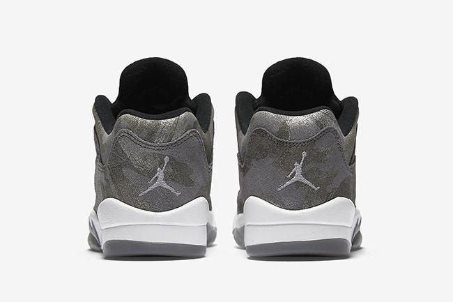 All Star Air Jordan 5 Low GS Grey