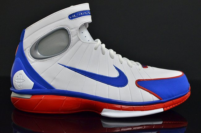 Nike Huarache 2K4 Retro All Star White Royal Red  a51224181