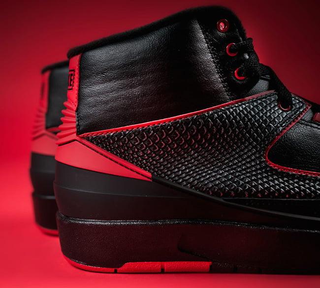 Alternate Air Jordan 2 Black Red