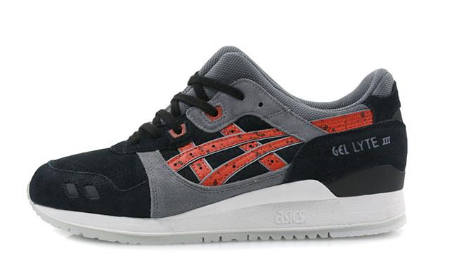 Asics Gel Lyte III Black Red Granite Pack