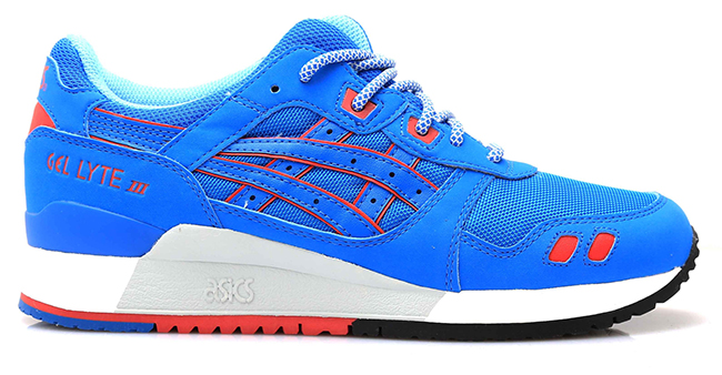 Asics Gel Lyte III Blue Red White