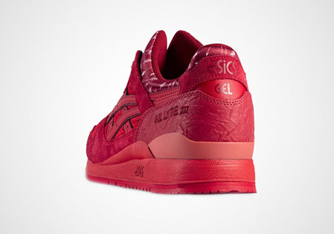 Asics Gel Lyte III Valentines Day Red 2016