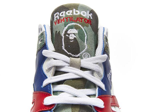 Bape mita sneakers Reebok Ventilator