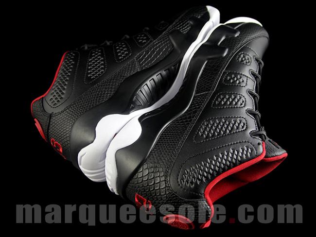Black Red Air Jordan 9 Low