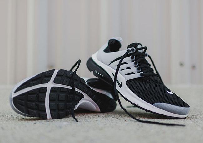 Black White Nike Air Presto