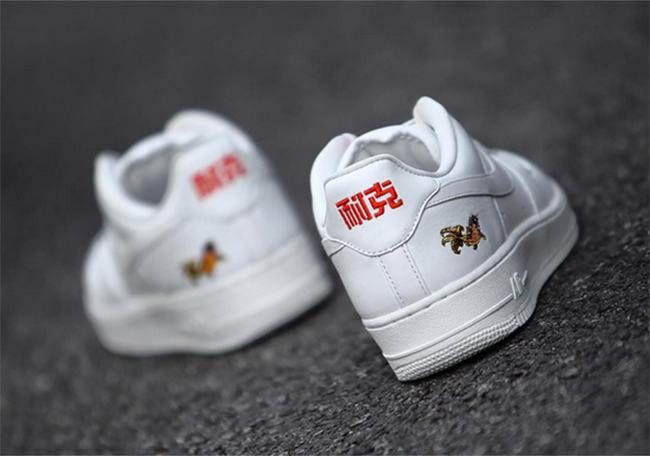 Chinese New Year Nike Air Force 1 Naike